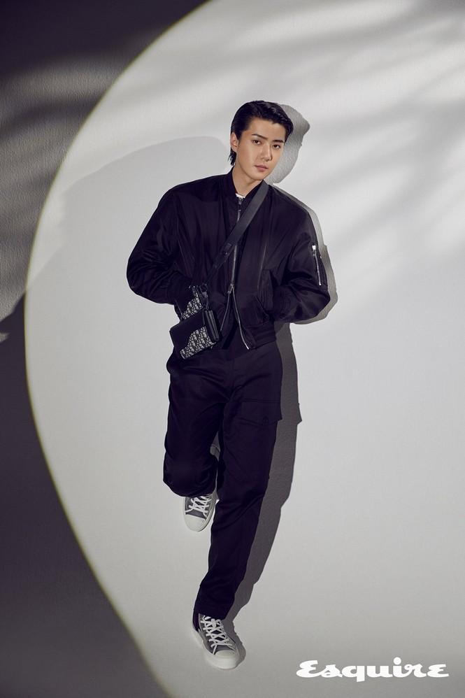 Sehun (EXO) trở thành đại sứ thương hiệu của Dior, khoe body cực phẩm trong BST Dior Men - ảnh 3