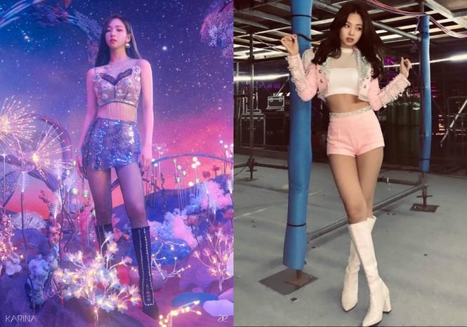 """Chỉ vì """"sánh đôi"""" cùng Kai (EXO), Karina (aespa) được đưa ra so sánh với Jennie BLACKPINK - ảnh 6"""