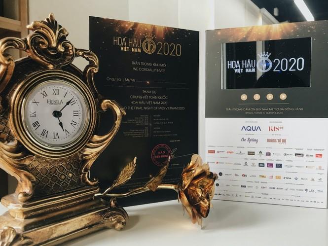 Hoa Hậu Việt Nam 2020: Hé lộ hình ảnh vé mời đặc biệt của đêm Chung kết toàn quốc - ảnh 3