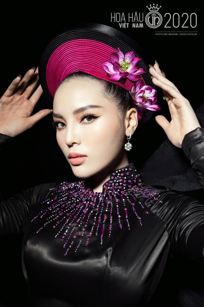 Nhan sắc đẳng cấp của 5 cựu hoa hậu từ thảm đỏ tới hậu trường đêm CK Hoa Hậu Việt Nam 2020 - ảnh 12