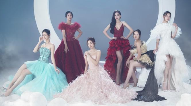 Sáu nàng cựu hoa hậu khoe sắc vóc đẳng cấp trong BST váy dạ hội đẹp lộng lẫy - ảnh 4