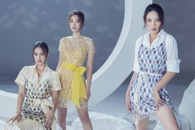 Sáu nàng cựu hoa hậu khoe sắc vóc đẳng cấp trong BST váy dạ hội đẹp lộng lẫy - ảnh 3