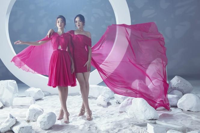 Sáu nàng cựu hoa hậu khoe sắc vóc đẳng cấp trong BST váy dạ hội đẹp lộng lẫy - ảnh 2