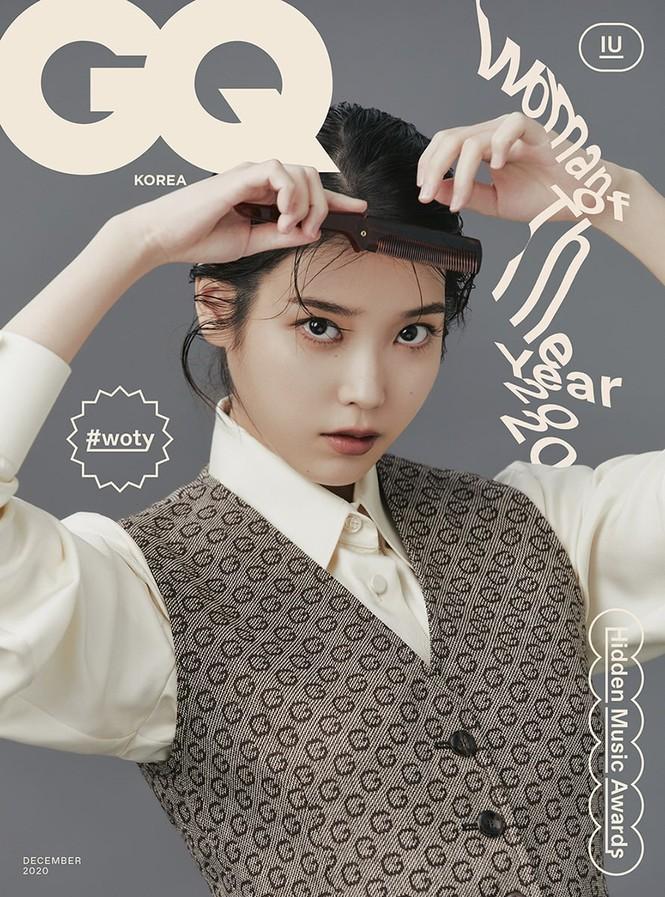 """IU diện trang phục lịch lãm như một """"quý ông"""" trên ấn phẩm GQ Man Of The Year - ảnh 1"""