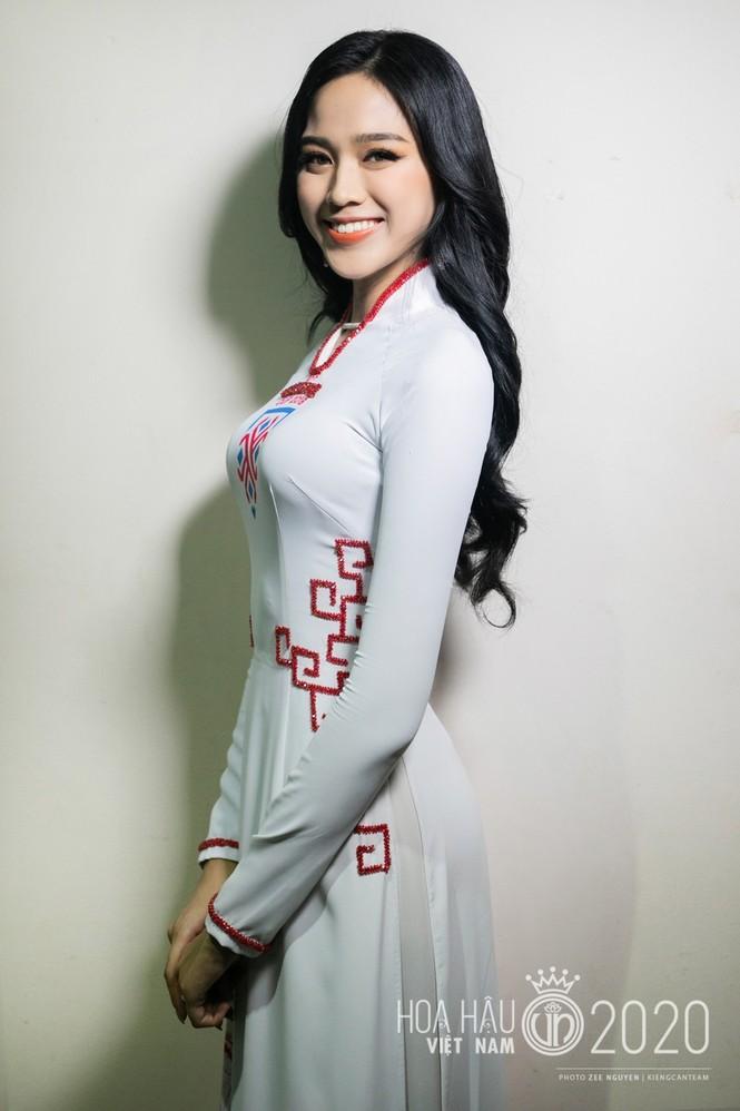 Cận cảnh nhan sắc Hoa hậu Đỗ Thị Hà và hai Á hậu trong hậu trường đêm chung kết - ảnh 3