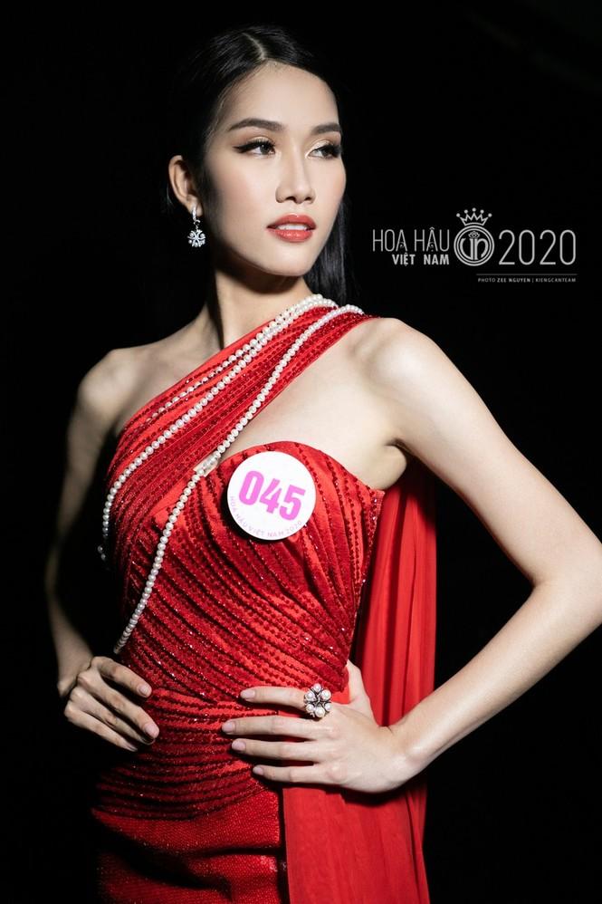 Cận cảnh nhan sắc Hoa hậu Đỗ Thị Hà và hai Á hậu trong hậu trường đêm chung kết - ảnh 5