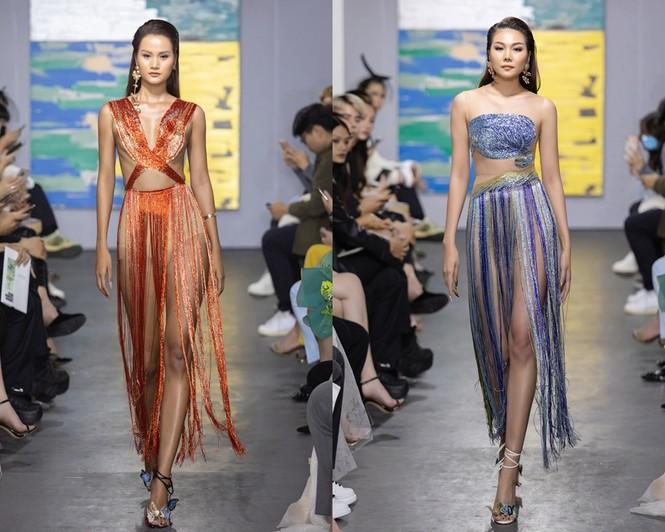 Hoa hậu Đỗ Thị Hà mở màn show thời trang với nhan sắc như nàng thơ, ai cũng phải xuýt xoa - ảnh 11
