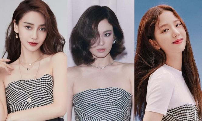 Đụng hàng với 2 đại sứ Dior, Song Hye Kyo được khen thần thái lấn át Jisoo và Angela Baby - ảnh 7