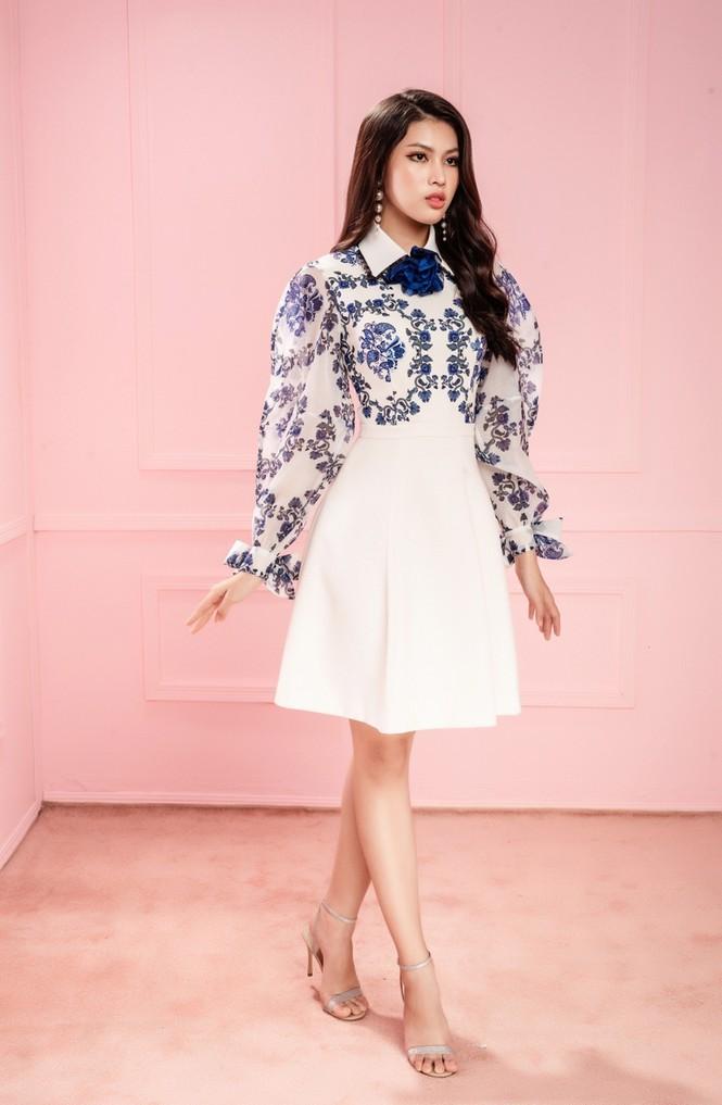 Học ngay Hoa hậu Đỗ Thị Hà và hai nàng Á hậu cách chọn trang phục xinh tươi mùa Lễ Tết - ảnh 6