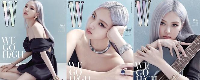 Jisoo BLACKPINK khoe nhan sắc cực kỳ ấn tượng trên bìa W Hàn, nhưng netizen lại nhắc đến Lisa - ảnh 4