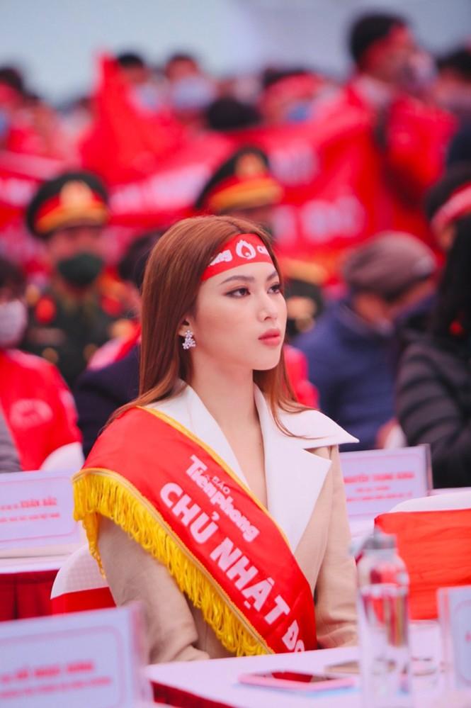 Hoa hậu Đỗ Thị Hà cùng dàn người đẹp lan toả thông điệp nhân văn của ngày Chủ nhật Đỏ - ảnh 5