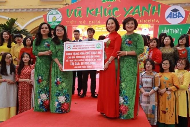 Teen THCS Nguyễn Tri Phương trải nghiệm vô vàn điều thú vị tại Lễ hội Vũ Khúc Xanh đón Tết - ảnh 10