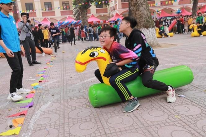 Teen THCS Nguyễn Tri Phương trải nghiệm vô vàn điều thú vị tại Lễ hội Vũ Khúc Xanh đón Tết - ảnh 4