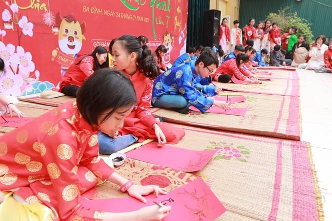 Teen THCS Nguyễn Tri Phương trải nghiệm vô vàn điều thú vị tại Lễ hội Vũ Khúc Xanh đón Tết - ảnh 5