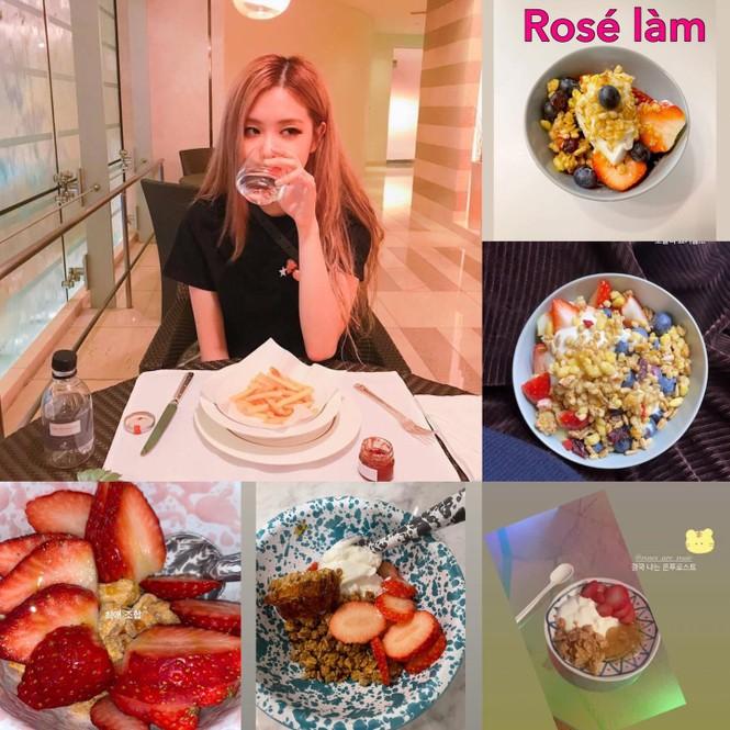 Hoá ra Rosé (BLACKPINK) giữ dáng nhờ món ăn này, bảo sao 3 thành viên còn lại và BLINKs đều nô nức học theo - ảnh 3