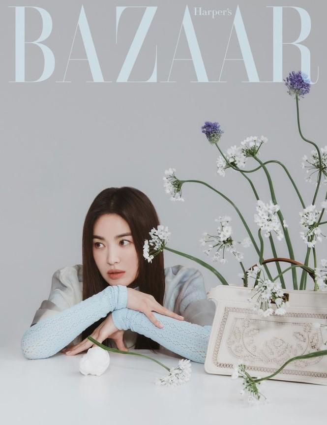 """Song Hye Kyo chính thức trở thành đại sứ thương hiệu của FENDI, khoe bộ ảnh đẹp như """"thiếu nữ mùa Xuân"""" - ảnh 6"""