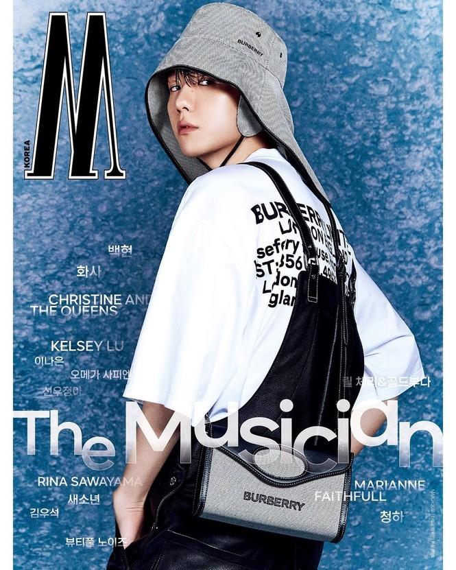 Tạp chí W Hàn tung bìa số tháng 3, Baekhyun (EXO) thì rõ rồi nhưng idol nữ mới thực sự là ẩn số - ảnh 1