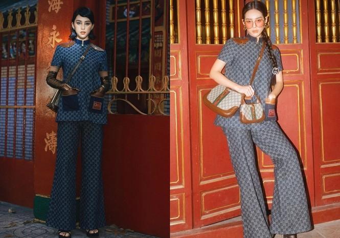 Hoa hậu Tiểu Vy liệu có lấn át được Khánh Linh khi chụp ảnh cùng concept, mặc cùng bộ trang phục? - ảnh 5