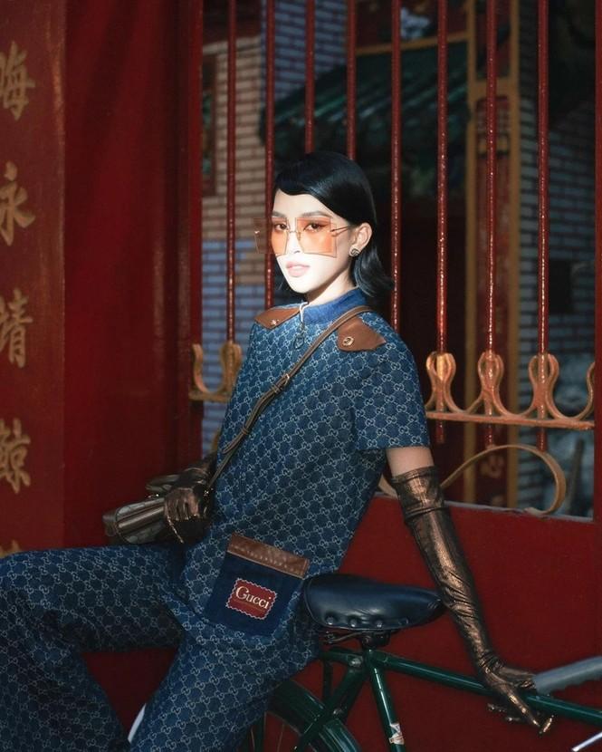 Hoa hậu Tiểu Vy liệu có lấn át được Khánh Linh khi chụp ảnh cùng concept, mặc cùng bộ trang phục? - ảnh 6