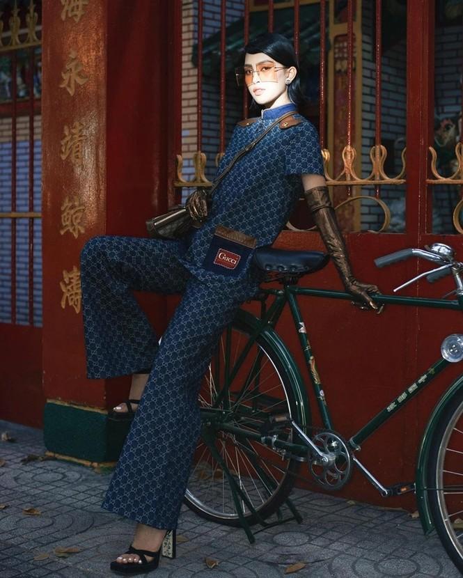 Hoa hậu Tiểu Vy liệu có lấn át được Khánh Linh khi chụp ảnh cùng concept, mặc cùng bộ trang phục? - ảnh 7