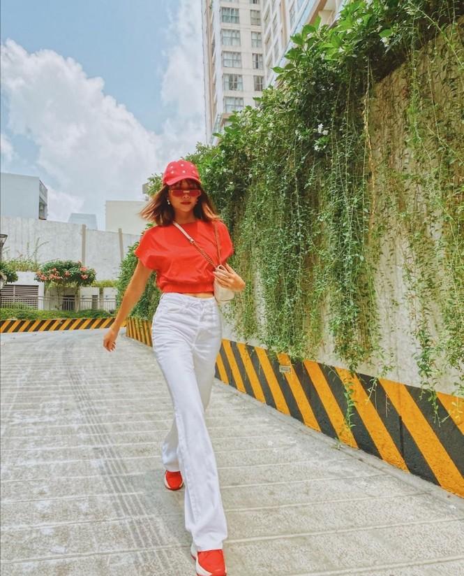 Thiều Bảo Trâm, Doãn Hải My, Hoa hậu H'Hen Niê cùng dàn sao Việt diện tông màu đỏ rực trong tuần đầu tiên của năm mới  - ảnh 10