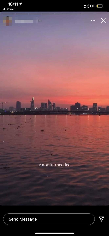 Tạm gác lại những lo âu, cùng người Sài Gòn ngắm mặt trời lặn đẹp như La La Land  - ảnh 6