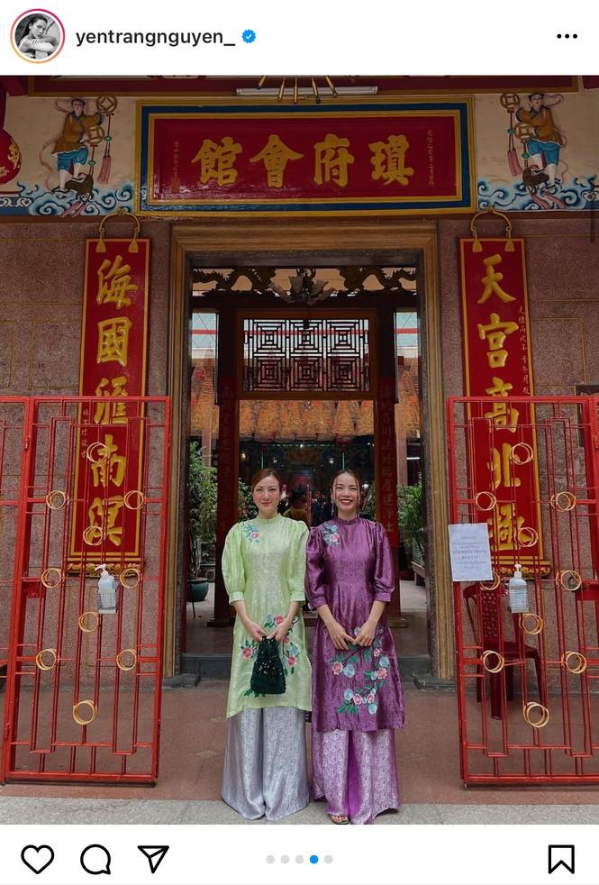 Muôn hình vạn trạng trang phục đi lễ chùa của sao Việt - ảnh 6