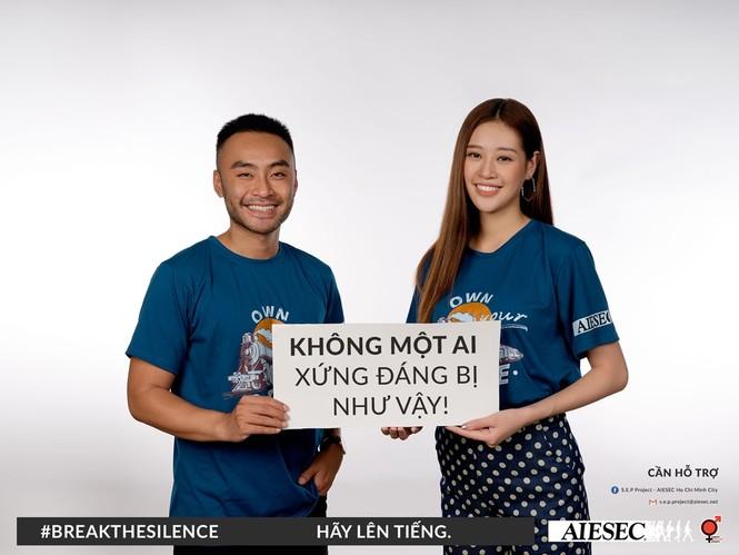 Hoa hậu Khánh Vân, MC/VJ Dustin Phúc Nguyễn cùng lên tiếng về nạn quấy rối tình dục  - ảnh 5