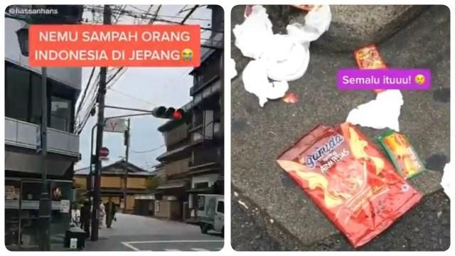 Hình ảnh rác xuất xứ từ Indonesia nằm ngổn ngang trên đường phố Nhật Bản gây ra tranh cãi - ảnh 1