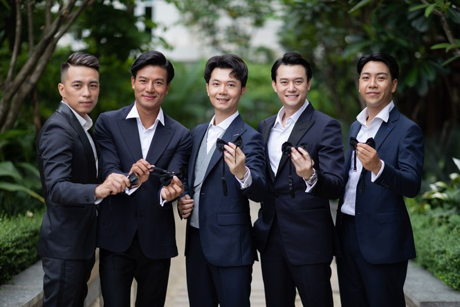 Đám cưới Á hậu Thúy Vân: Những khoảnh khắc đẹp của đôi trai tài gái sắc - ảnh 9