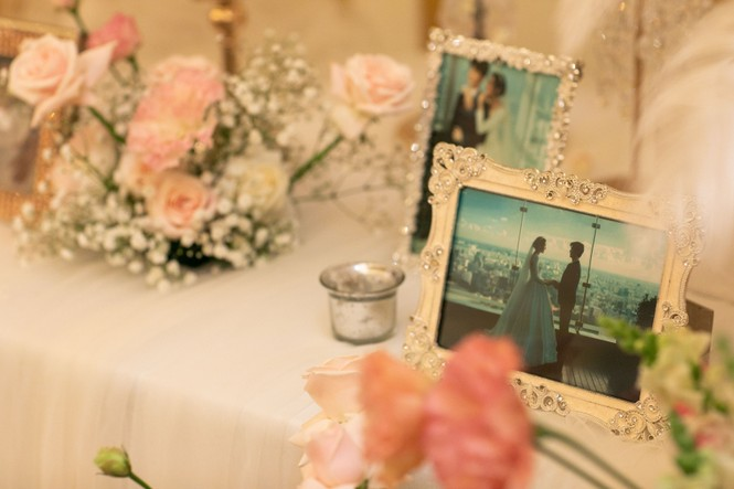 Đám cưới Á hậu Thúy Vân: Những khoảnh khắc đẹp của đôi trai tài gái sắc - ảnh 2