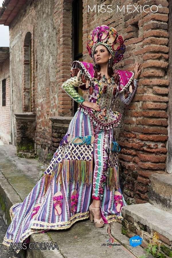 Choáng ngợp trước trang phục truyền thống lộng lẫy của các thí sinh Hoa hậu Mexico 2020 - ảnh 7