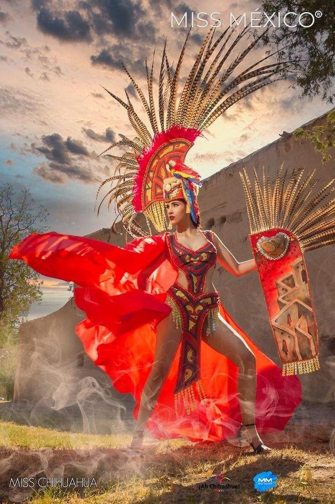 Choáng ngợp trước trang phục truyền thống lộng lẫy của các thí sinh Hoa hậu Mexico 2020 - ảnh 13