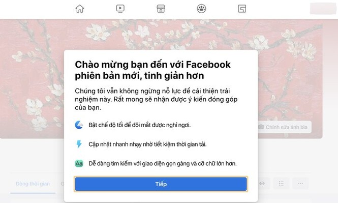 Facebook đã có giao diện mới toanh cùng màu đen huyền bí - ảnh 3