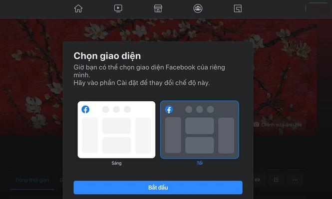 Facebook đã có giao diện mới toanh cùng màu đen huyền bí - ảnh 5