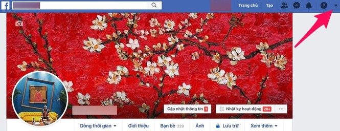 Facebook đã có giao diện mới toanh cùng màu đen huyền bí - ảnh 1
