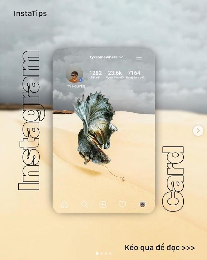 Hướng dẫn cách tạo Instagram Card, trend chỉnh ảnh đang hot nhất mạng xã hội - ảnh 1