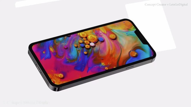 Ngỡ ngàng thiết kế tuyệt đẹp của iPhone 12: Vuông vắn góc cạnh, kích thước bằng iPhone 5s - ảnh 5