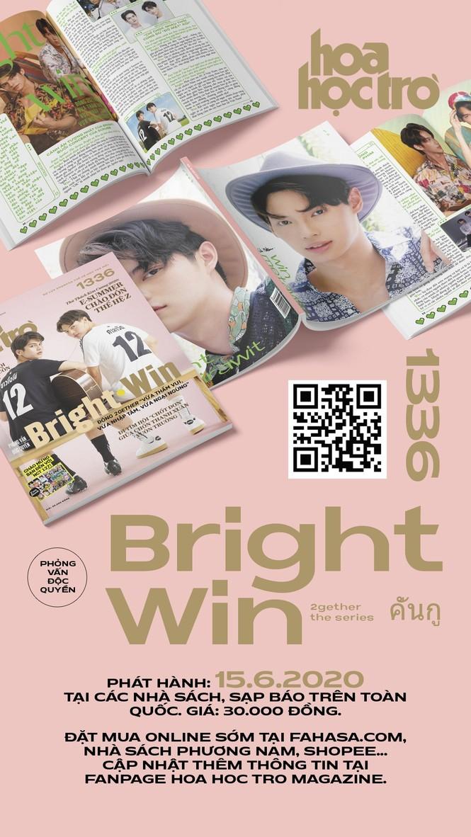 Hoa Học Trò 1336: Cuộc hẹn mùa Hè ngọt ngào cùng BrightWin, tặng fanbook NCT 127 - ảnh 2