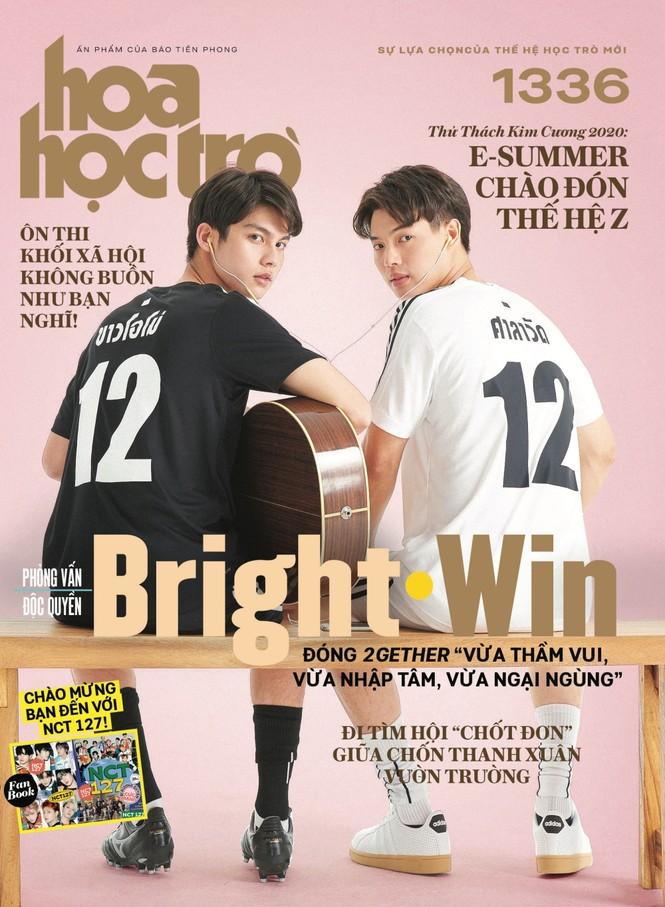 Hoa Học Trò 1336: Cuộc hẹn mùa Hè ngọt ngào cùng BrightWin, tặng fanbook NCT 127 - ảnh 1