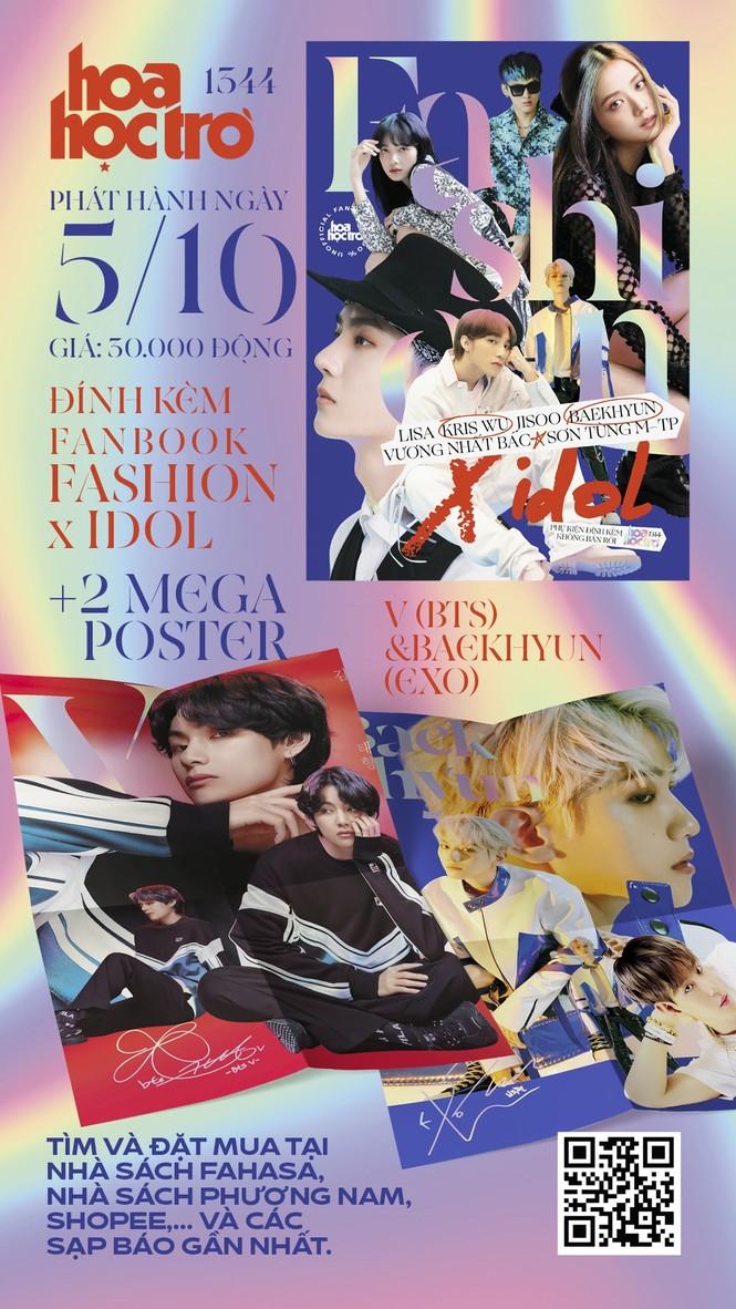 Hoa Học Trò 1344: Trong trẻo như tiết trời Thu, tặng ngay fanbook Fashion X idol - ảnh 1