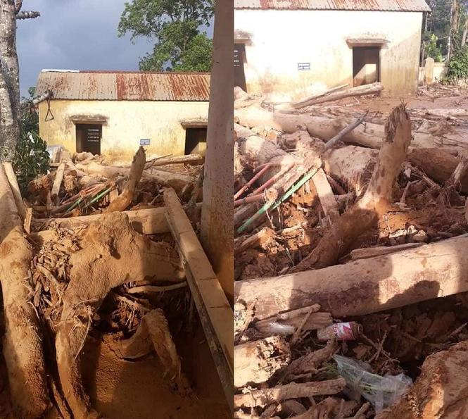 Trường học ở Quảng Trị ngập trong bùn đất dày 1m, học sinh không thể đến trường gần 3 tuần - ảnh 3