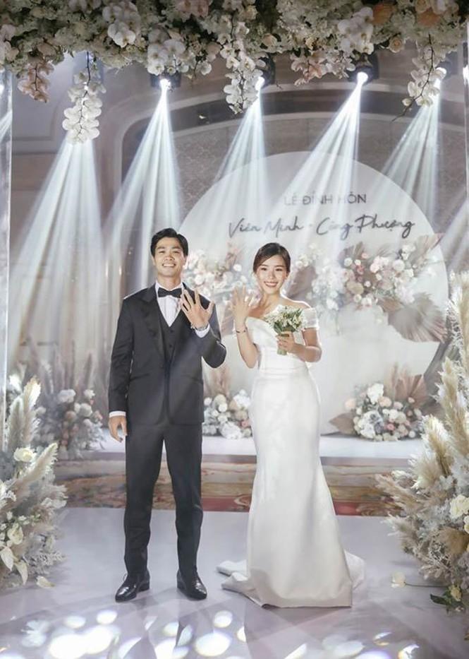 Công Phượng và Viên Minh sẽ tổ chức lễ cưới vào tháng 11 này ở cả 3 tỉnh, thành - ảnh 1