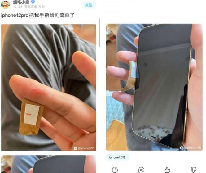 Viền iPhone 12 sắc đến mức có thể gọt táo, làm đứt tay người dùng, thực hư là thế nào? - ảnh 5