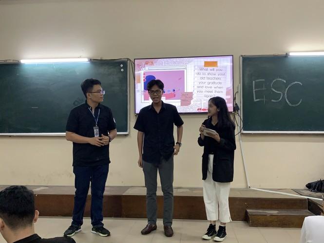 Sinh viên Đại học Sư phạm Kĩ thuật TP.HCM cùng nhau nâng cao kỹ năng tiếng Anh giao tiếp - ảnh 3