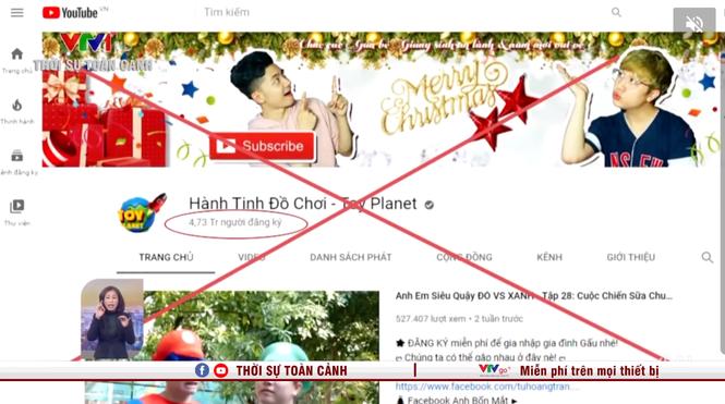4 kênh YouTube có nội dung nhảm nhí của Việt Nam bị Google tắt chức năng kiếm tiền - ảnh 1