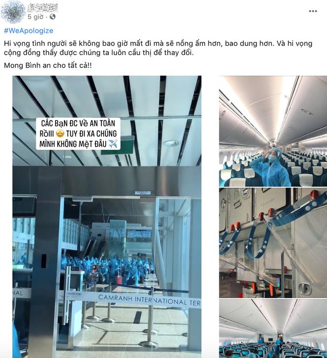 Hàng loạt tiếp viên của Vietnam Airlines đăng hashtag xin lỗi, mong được đối xử văn minh - ảnh 5