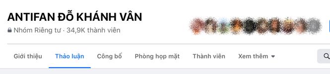 Group antifan Khánh Vân với gần 35K thành viên: Người lập group tự xưng là em họ? - ảnh 1