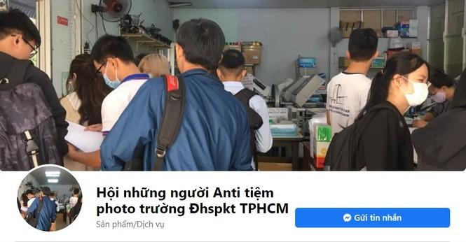 Sau loạt group anti nghệ sĩ, xuất hiện trang anti... tiệm photocopy trong trường Đại học - ảnh 1