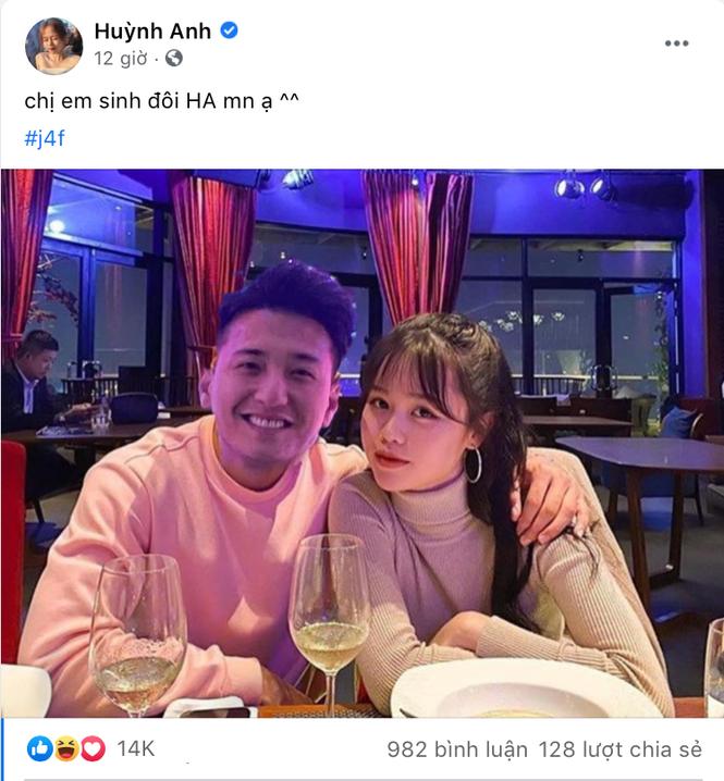 Huỳnh Anh đáp trả thế nào khi nam diễn viên Huỳnh Anh gọi Quang Hải là người yêu cũ? - ảnh 3